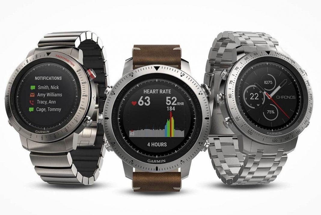 Garmin Fenix Chronos: спортивные часы за 90 000 рублей