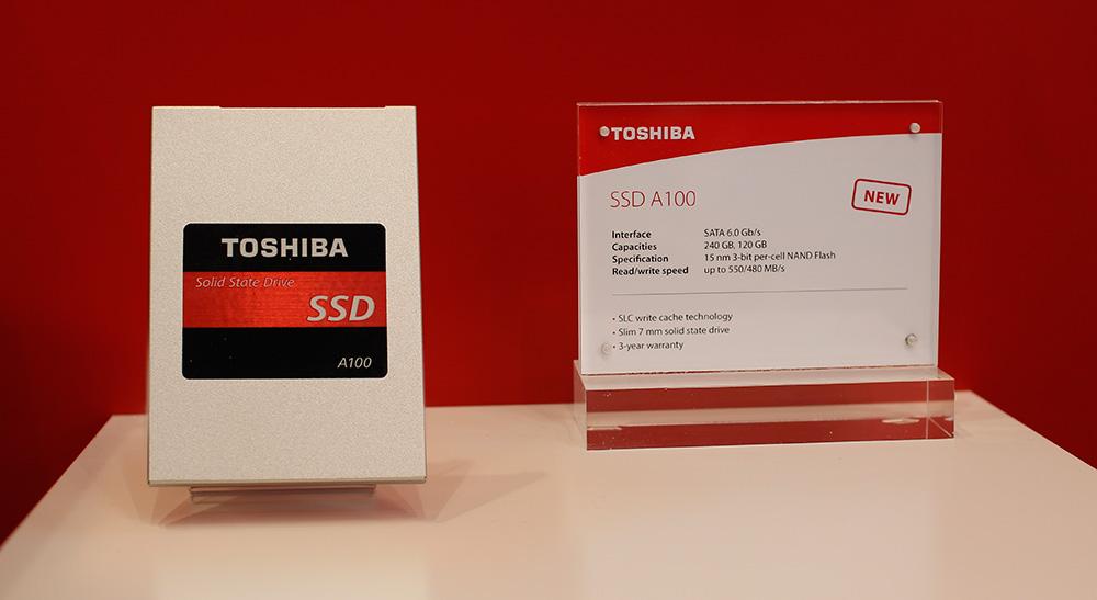 Toshiba SSD A100
