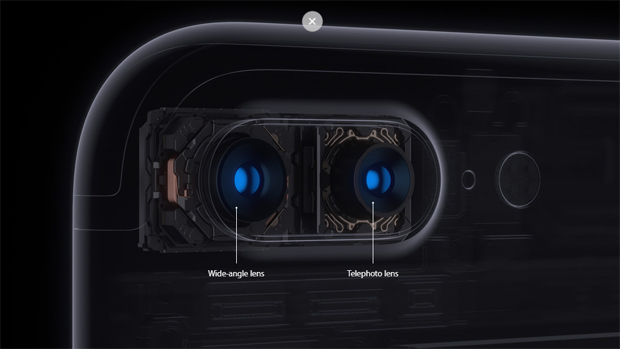 Новый iPhone 7 Plus выпускается с двойной камерой. Источник: Apple