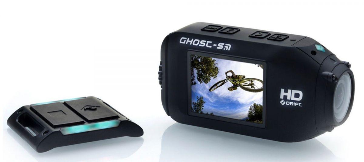 Drift Innovation Ghost-S: пульт дистанционного управления информирует о режиме съемки разными цветами светодиодного индикатора