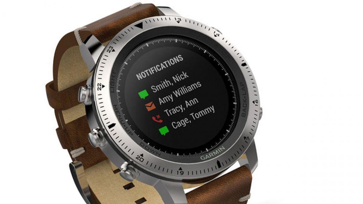 Garmin Fenix Chronos: часы бывают и в корпусе из нержавеющей стали с ремешком из кожи