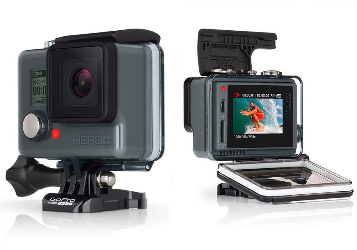 GoPro Hero+ LCD: жестко закрепленный корпус снижает мобильность