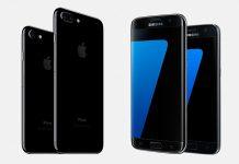 iPhone7 vs Samsung Galaxy S7