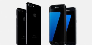 iPhone7 vs Samsung Galaxy S7