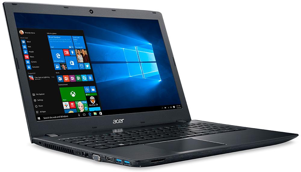Acer Aspire E5-575-565G: Приятно, что в ноутбуке есть много разных портов.