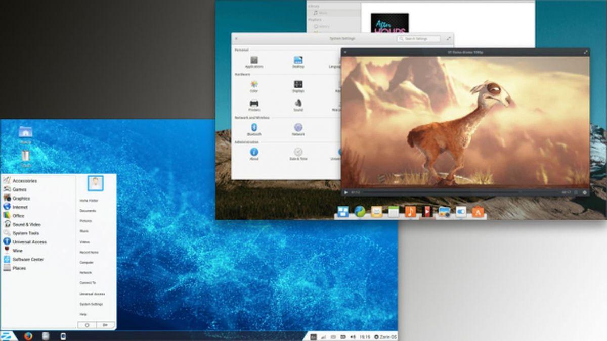Zorin OS (слева) и Elementary OS (справа): два чрезвычайно шикарных образа Linux