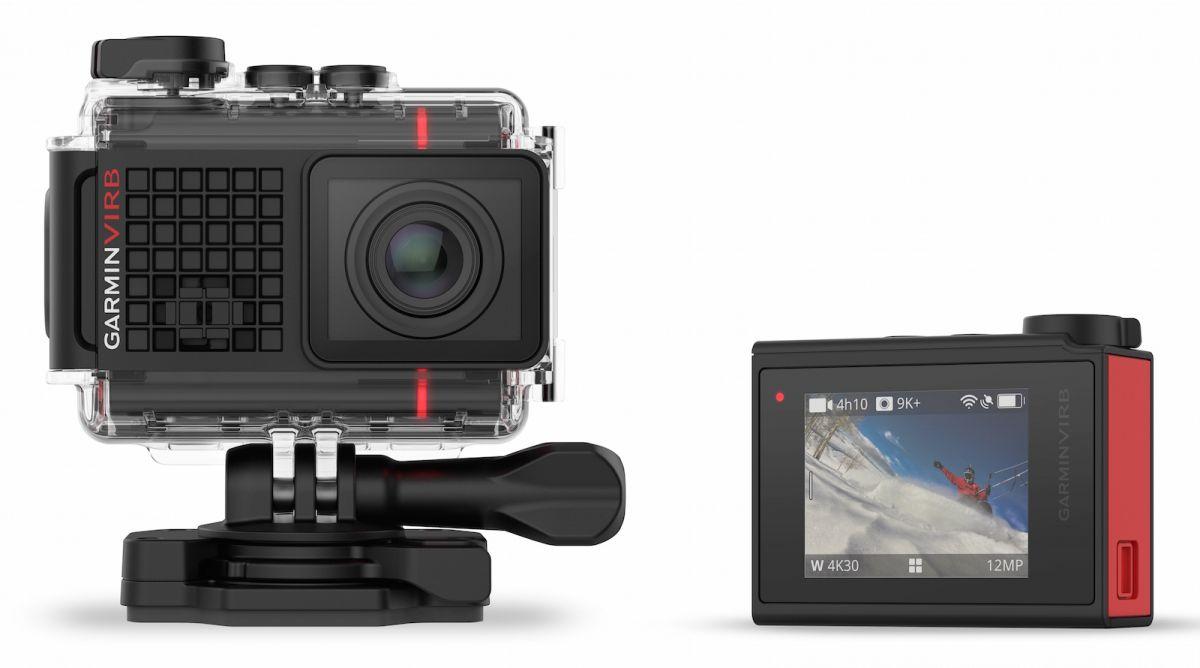 Garmin VIRB Ultra 30: обратную сторону украшает сенсорный экран, который существенно упрощает кадрирование