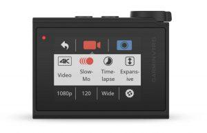 Garmin VIRB Ultra 30: наглядное и простое в использовании меню