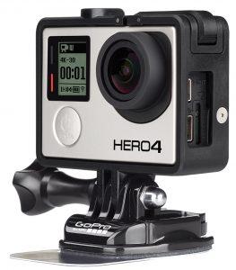 GoPro Hero4 Black Edition: новый «фрейм»-корпус очень удобен при монтаже и эксплуатации