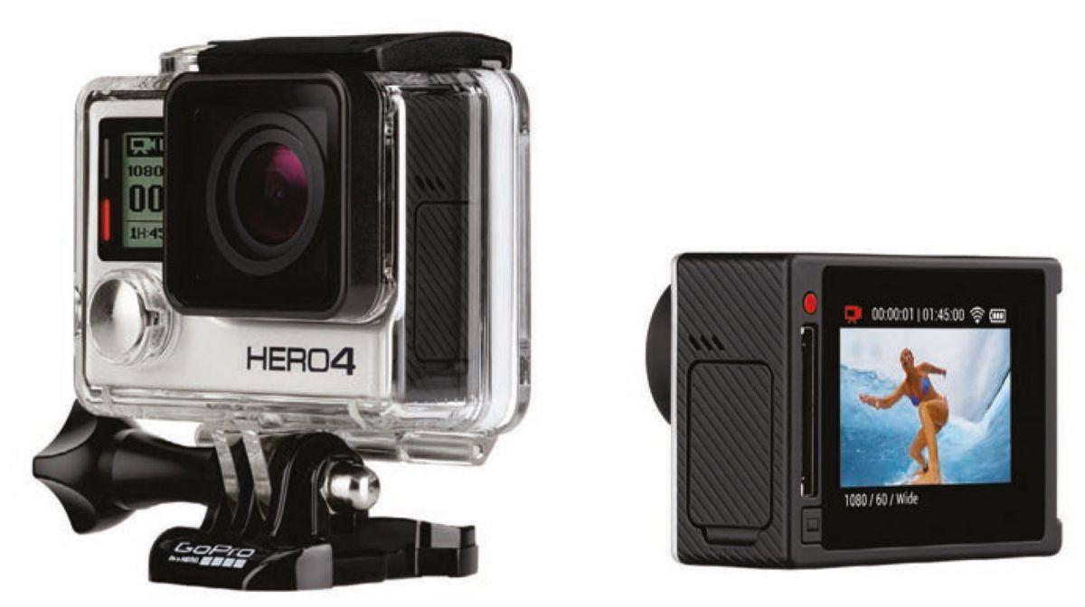 GoPro Hero4 Silver Edition: GoPro с дисплеем