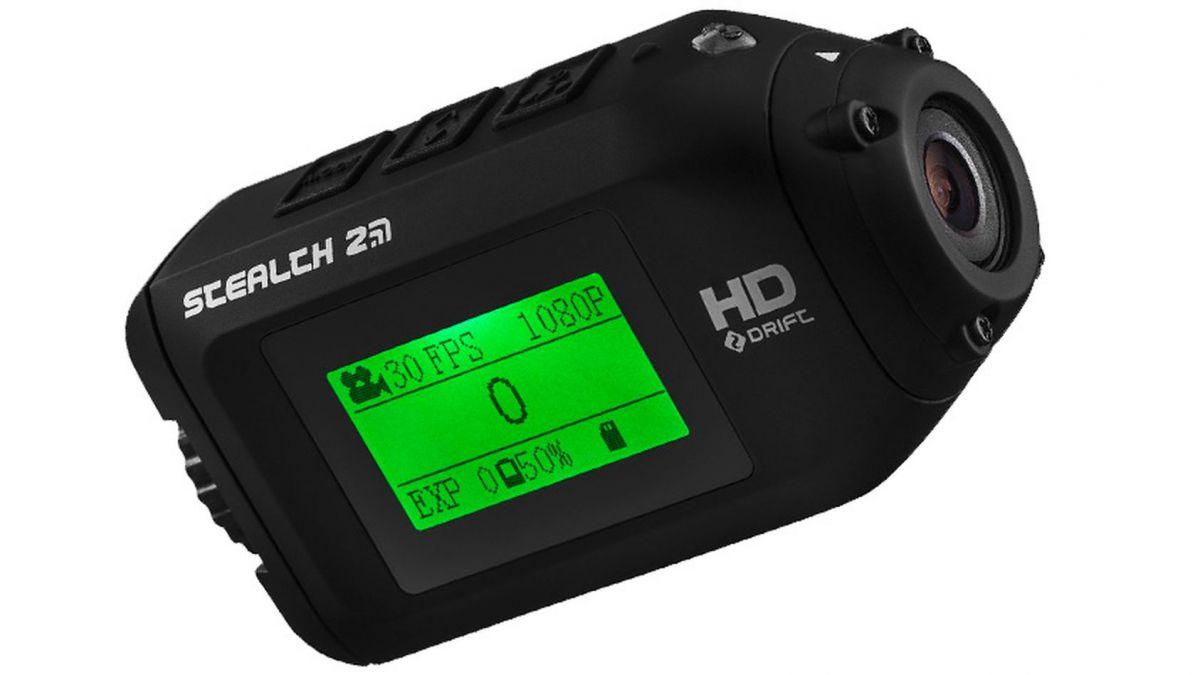 экшен-камера стоимостью около 10 000 руб.: лучшей моделью является Stealth 2 от Drift Innovation