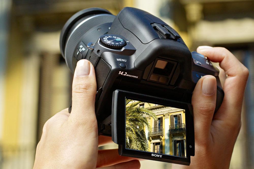 Современные камеры оснащены понятным интерфейсом
