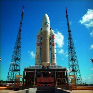 17 ноября ракета Ariane 5 вывела на орбиту спутники Galileo 15-18. Без развернутой солнечной панели спутники весом 733 кг по размеру не превышают платяной шкаф
