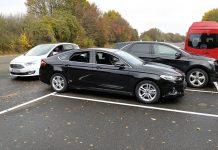 Умные системы Ford: Cross Traffic Alert