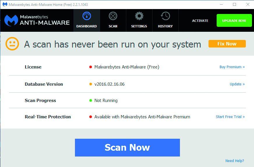 Напрямую с аварийной «флешки» Malwarebytes Anti-Malware уничтожит все вирусы, засевшие в системе