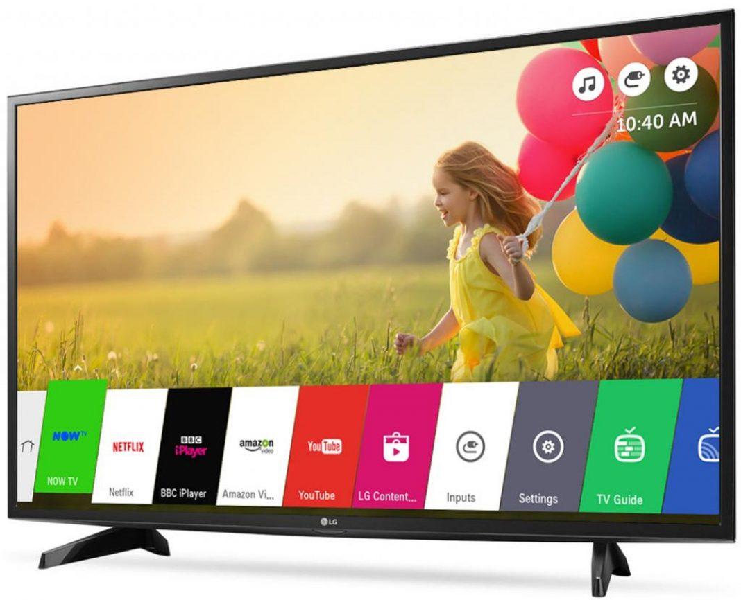Тест телевизора LG 43LH570V