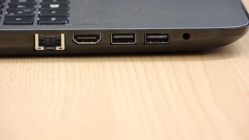 Тест ноутбука HP 15-ay116ng