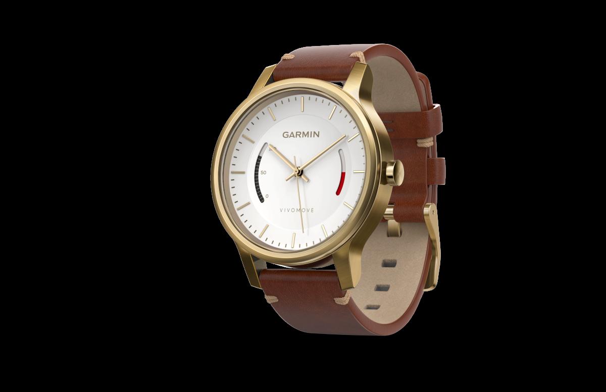 Garmin vivomove: симбиоз классических часов и трекера активности