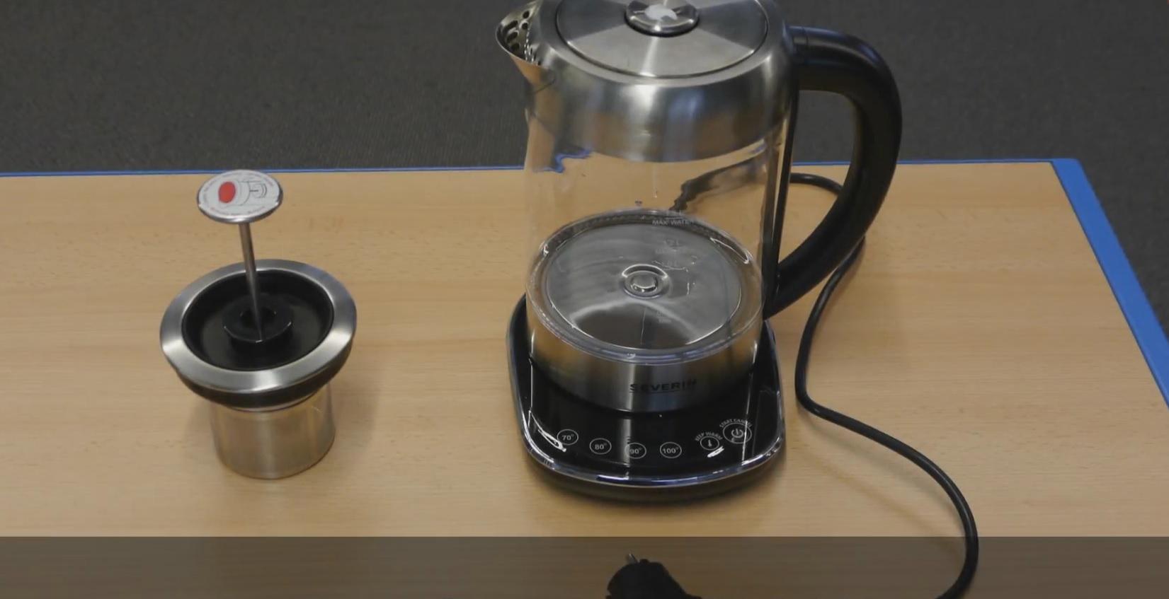 Тест чайника Severin WK3471
