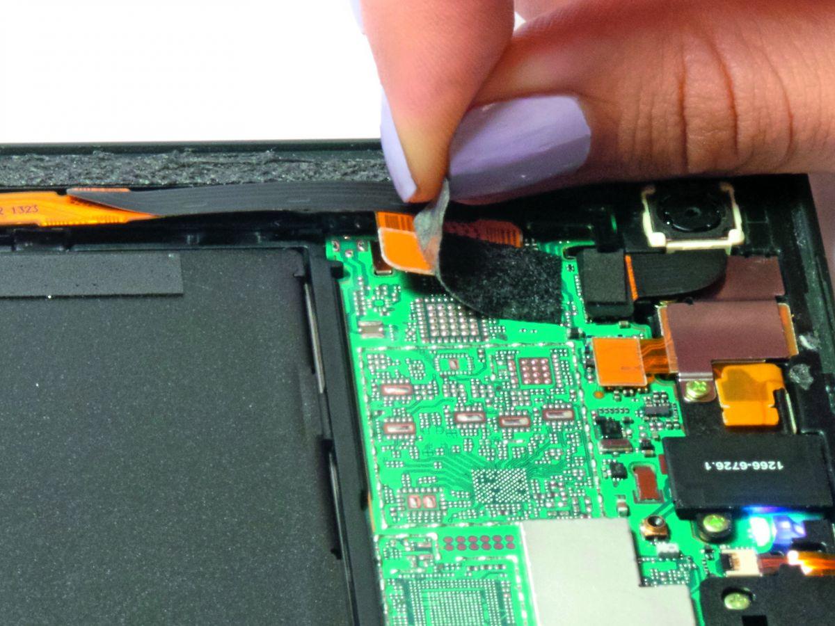 Как заменить аккумулятор планшета Xperia Z Tablet