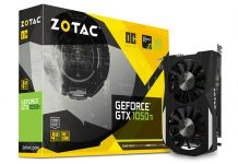 Zotac GeForce GTX 1050 Ti OC Edition 4GB GDDR5