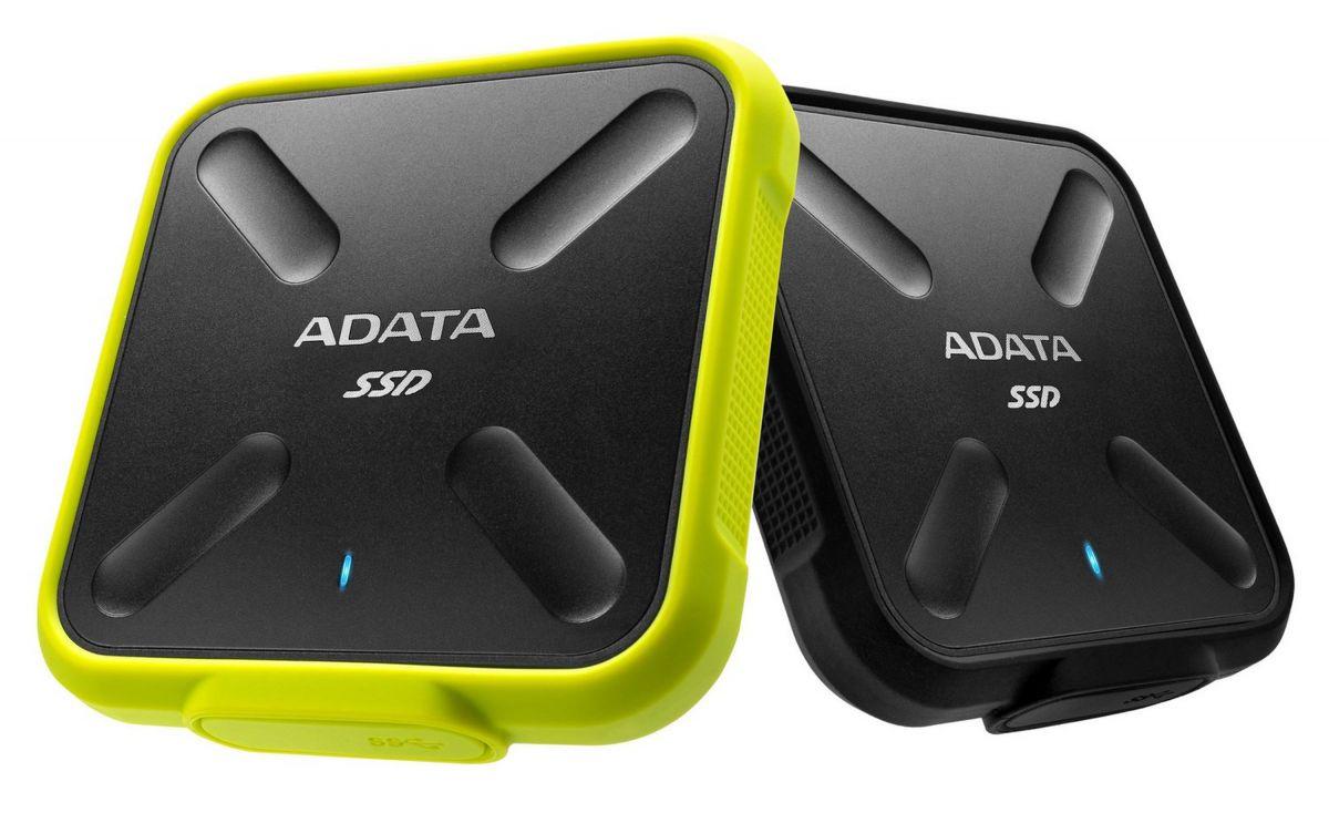 Обзор портативного твердотельного диска ADATA SSD SD700