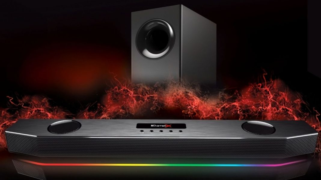 Первый взгляд на саундбар Creative Labs Sound BlasterX Katana Gaming