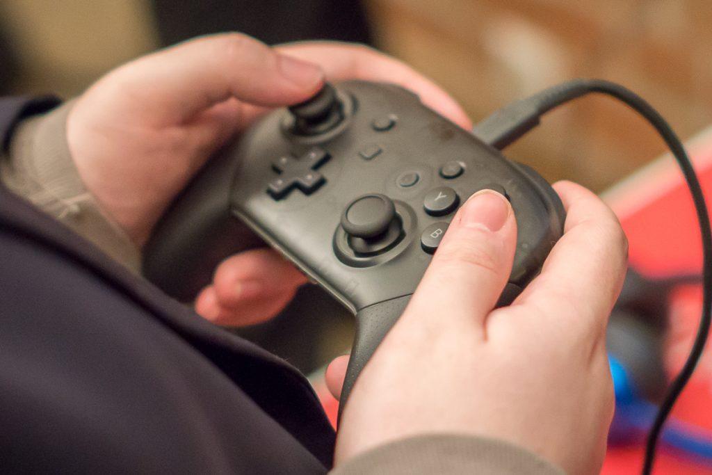 Первый взгляд на игровую консоль Nintendo Switch