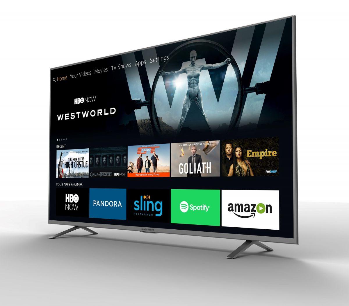 Первый телевизор от Amazon: Amazon умело выводит на новую сцену свой умный интерфейс