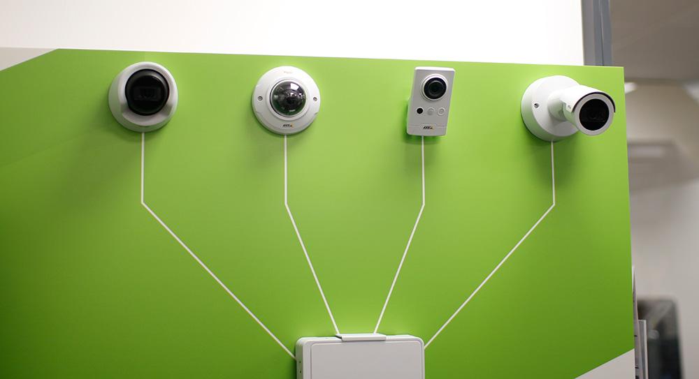 Системы видеонаблюдения Axis Communications