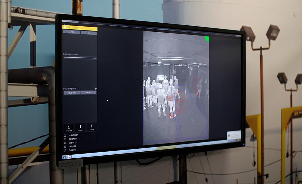 """Системы видеонаблюдения на критических объектах: тепловизионные камеры отлично """"видят"""" в полной темноте и обладают высокой дальностью обнаружения."""