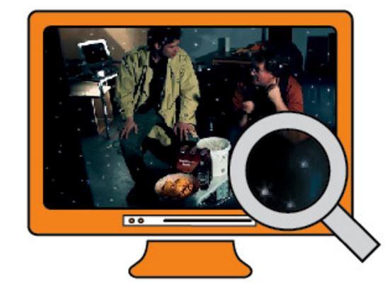 Цифровой «шум» в HDMI.В редких случаях при использовании неисправных HDMI-кабелей на экране появляются дефекты, похожие на шум. Причиной являются ошибки при передаче пикселей, которые загораются белым цветом. Здесь поможет только новый кабель