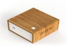 Маленький, да удаленький? Мини-ПК Endless Mission One имеет шикарный деревянный корпус. Иллюстрация: Endless