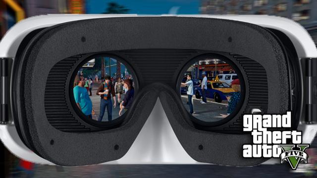 GTA V с модом для VR