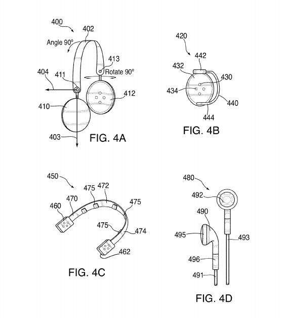 Apple получила патент на наушники-колонки