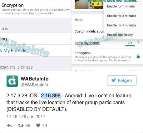 Новая функция отслеживания в WhatsApp: специалисты по безопасности бьют тревогу