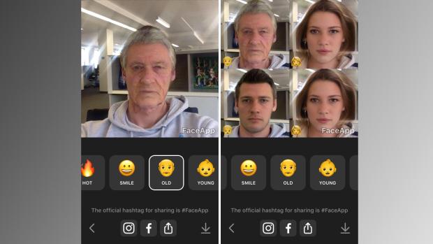 Одним кликом приложение FaceApp сделает вас улыбающимся