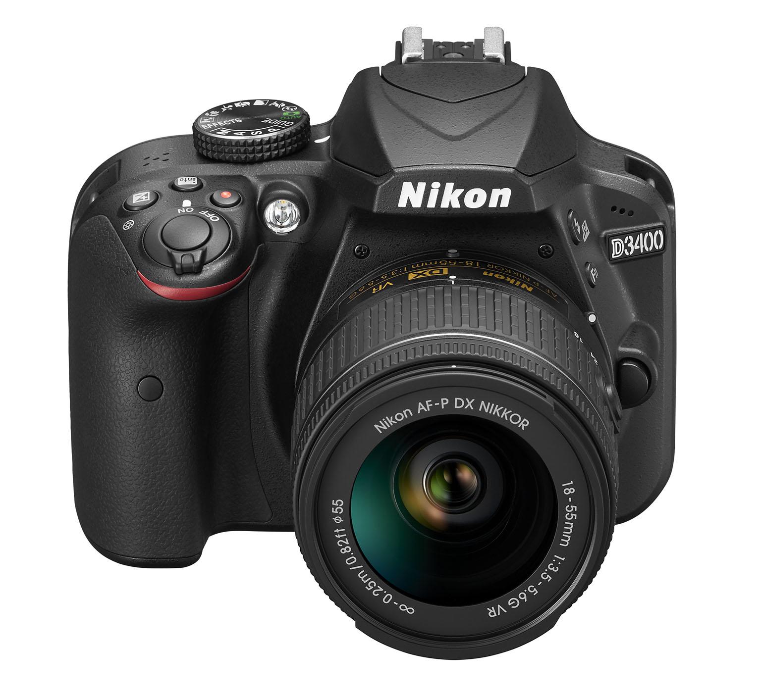 Тест Nikon D3400: зеркальная камера начального уровня