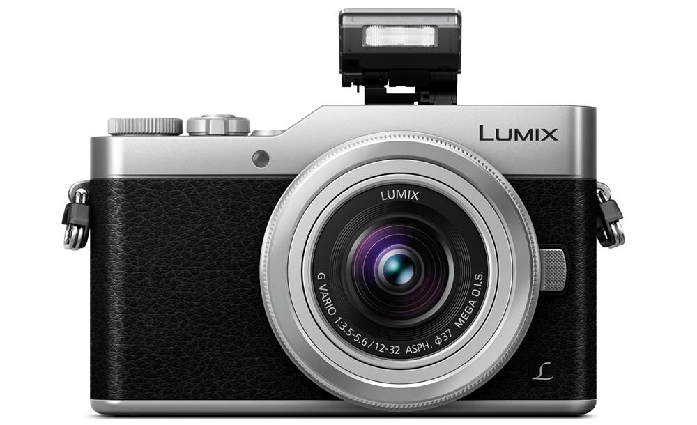 Panasonic Lumix DMC-GX800: горячего башмака тут нет, зато в корпусе прячется вспышка, бьющая почти на 3 метра.