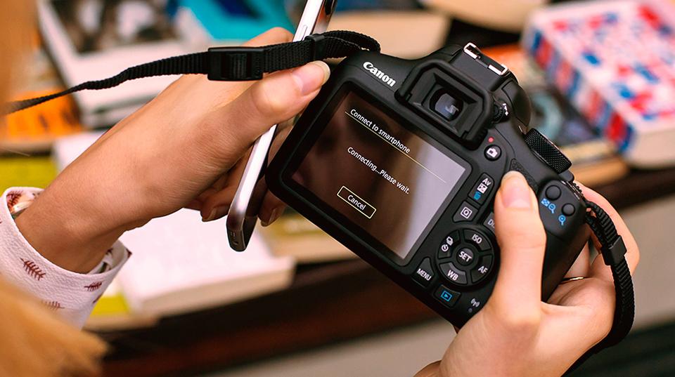 Зеркальные камеры Canon EOS
