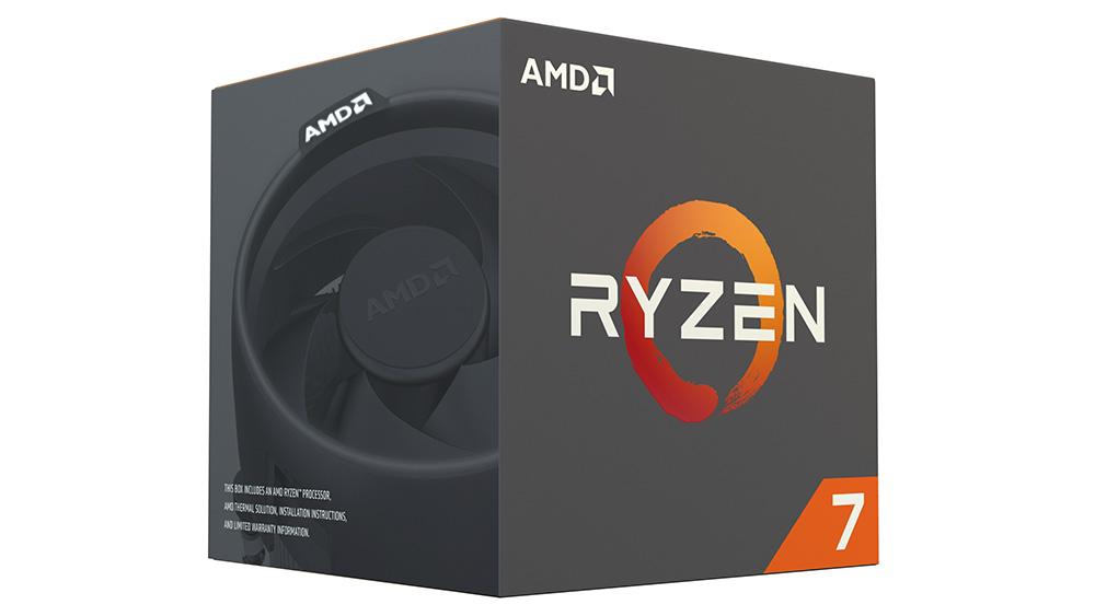 AMD Ryzen 7 1800X: можно выбрать модель с вентилятором Wraith Max.