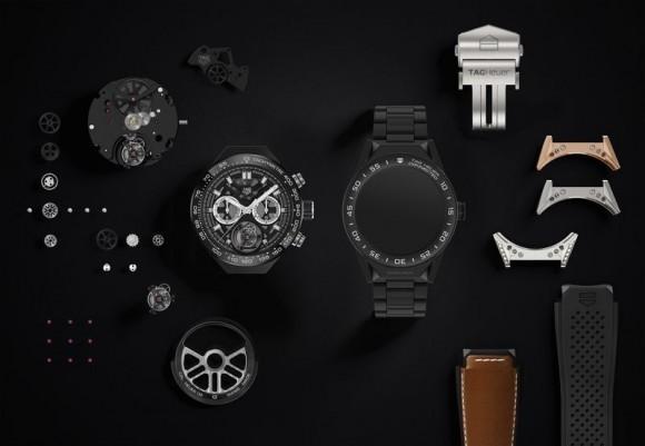 Connected Modular 45 – модульные часы под управлением Android Wear 2.0 от TAG Heuer