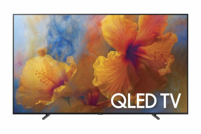 Samsung представила три новые модели QLED-телевизоров