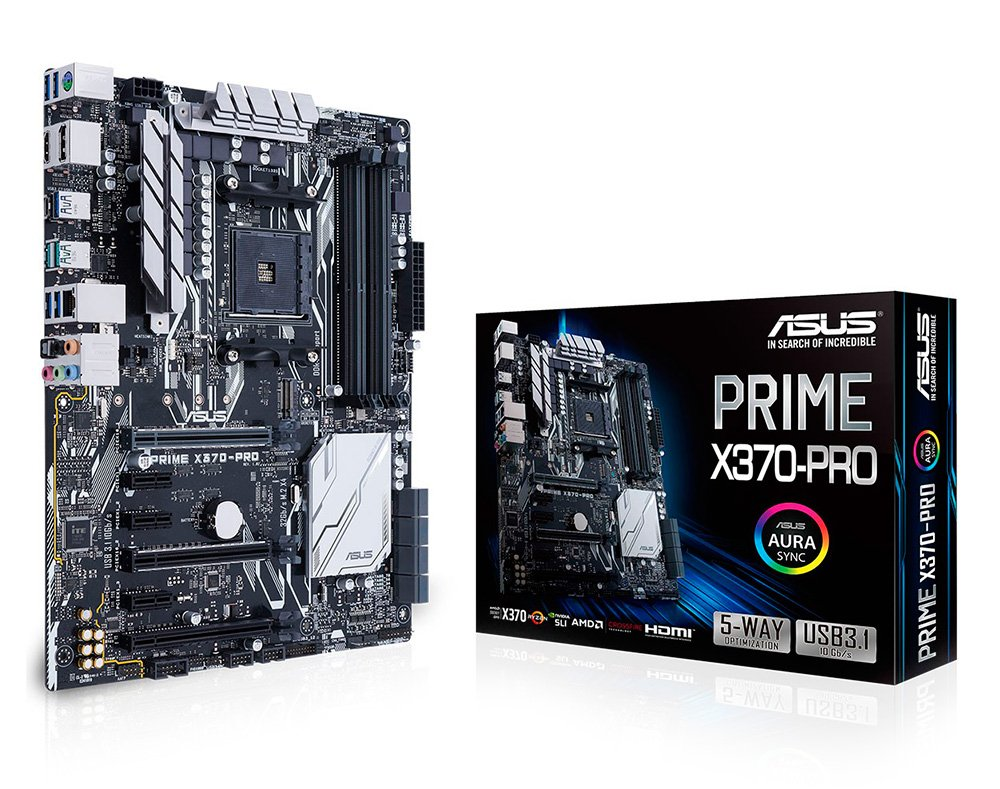 Asus X370 Prime: богатое оснащение и приличная стоимость класса High-end для Ryzen.