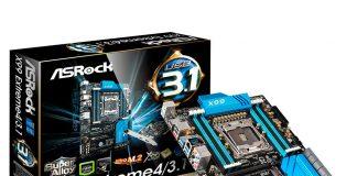 ASRock X99M Extreme4: материнские платы с чипсетом X99 относительно дорогие, зато оснащены очень хорошо.