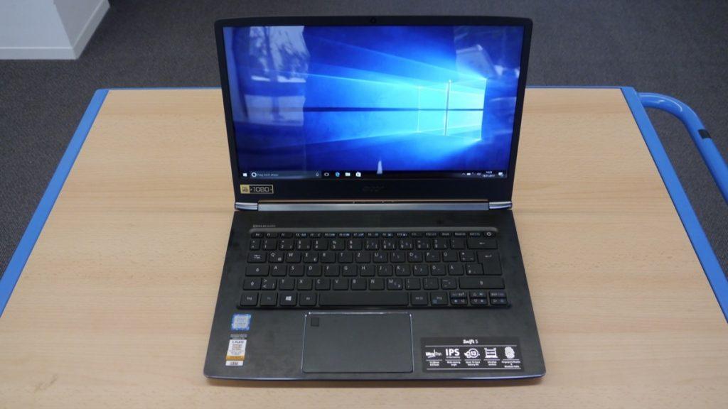 Тест ноутбука Acer Swift 5 SF514-51: мощный и легкий универсал