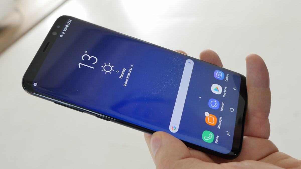 Первый взгляд на смартфон Samsung Galaxy S8 Plus