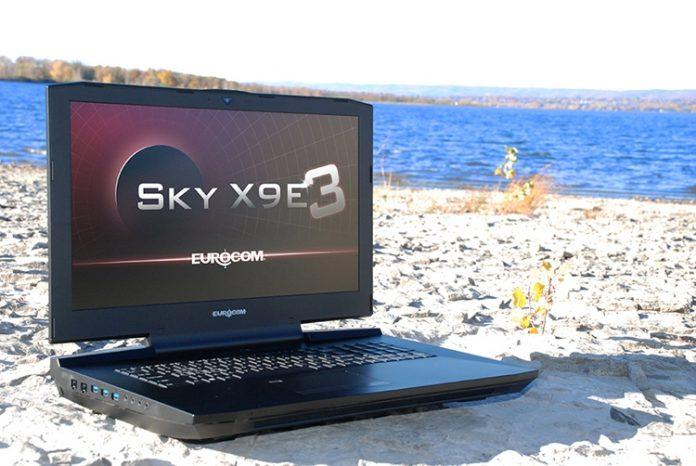 Eurocom представила мощный ноутбук для работы с VR-шлемами
