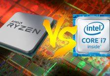 AMD Ryzen vs Intel Core i7