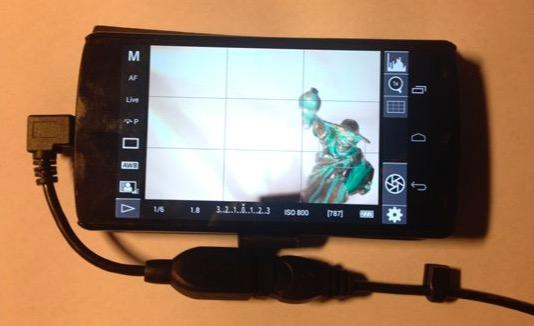 Как использовать смартфон в качестве внешнего дисплея для камеры